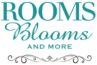 Rooms Blooms And More Logo